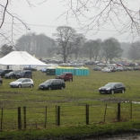 Point to Point carpark 2013